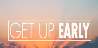 Pastors: Get Up Early
