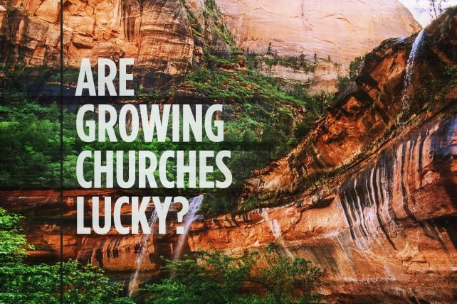 Are Growing Churches Just Lucky?