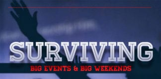 6 Tips for Surviving Big Events and Busy Weekends