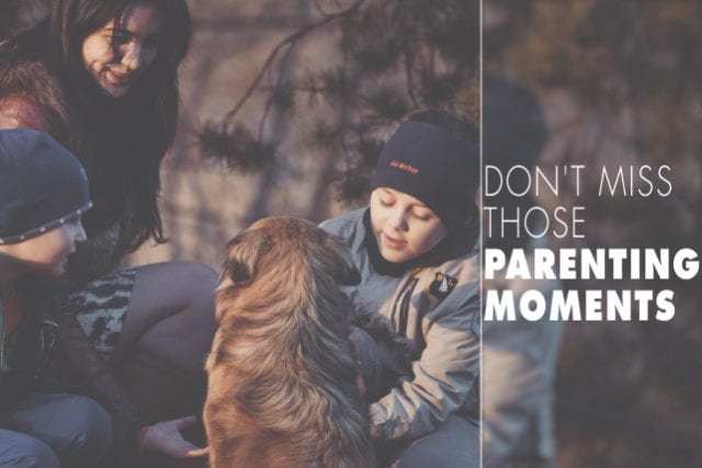 Don't Miss Those Parenting Moments