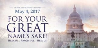 Pray Personally and Participate Cooperatively in Thursday's National Day of Prayer for America