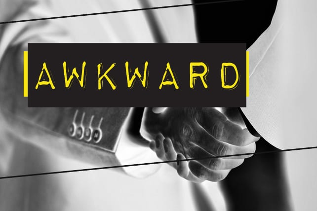 The 10 Awkward Church Handshakes