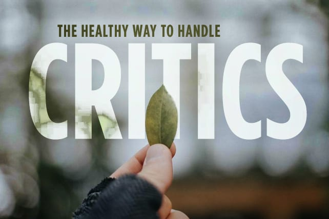 Healthy Ways to Handle Church Critics