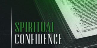 How to Live With Spiritual Confidence