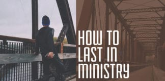 How to Last in Ministry