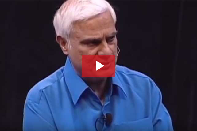 Ravi Zacharias Answers: Why Doesn't God Stop Evil?