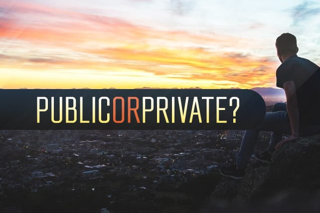 Are Your Worshiping in Public or Private?
