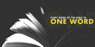 Every Book of the Bible in One Word