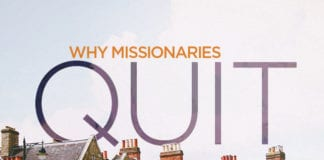 The Surprising Number One Reason Missionaries Quit