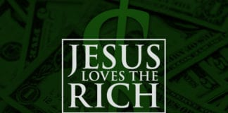 Jesus Loves the Rich