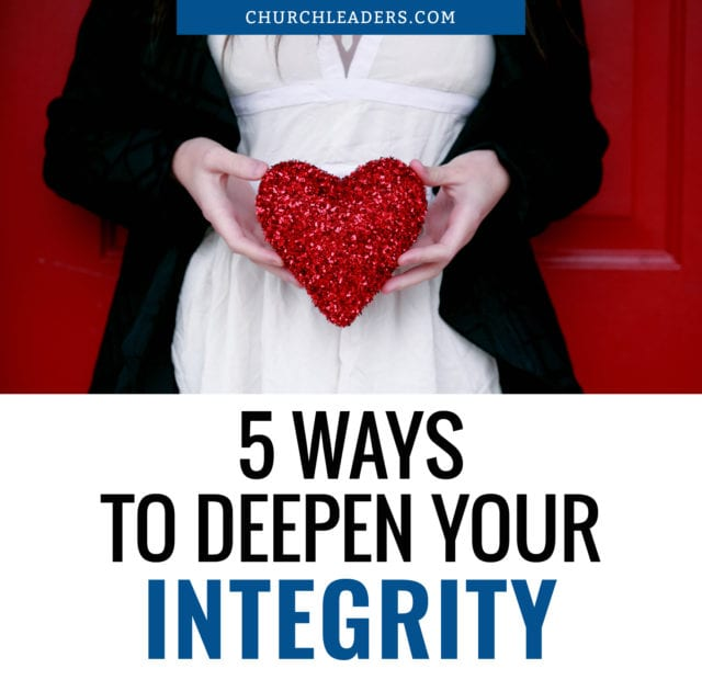 deepen your integrity