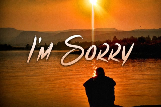 How to Apologize When You Mess Up