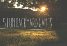 5 Fun Backyard Games