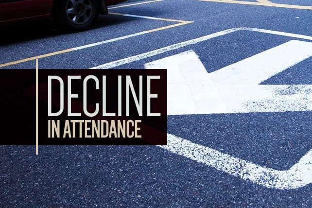 7 Common Reasons Churches Have a Dramatic Decline in Attendance