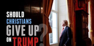 Should Christians Give Up on President Trump?