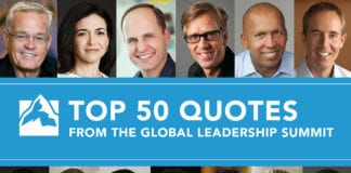 Global Leadership Summit quotes