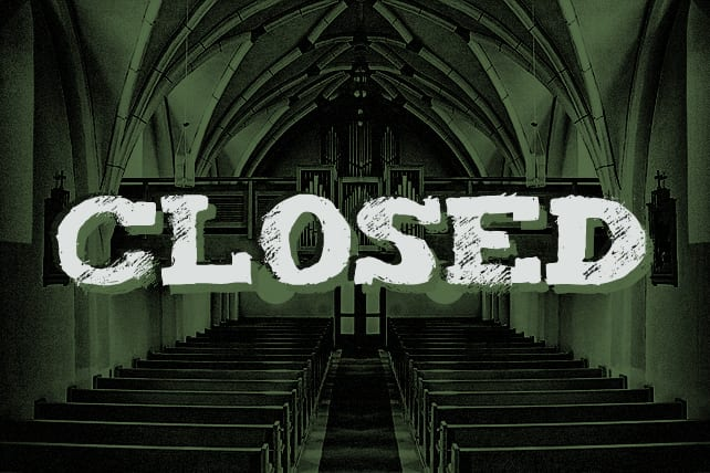 church closing