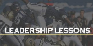 Leadership Lessons College Football