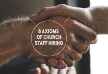 Hiring church staff