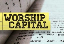 "Spend Your ""Worship Capital"" Wisely"