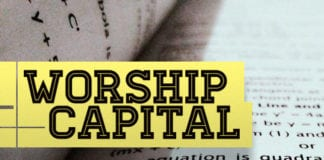 """Spend Your """"Worship Capital"""" Wisely"""