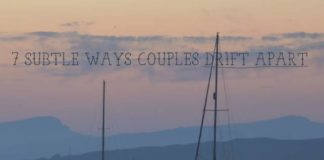 Couples Drift Apart