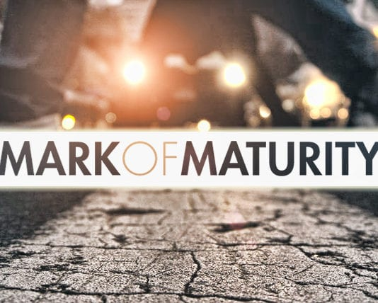 Absorbing Correction: A Mark of a Mature Man