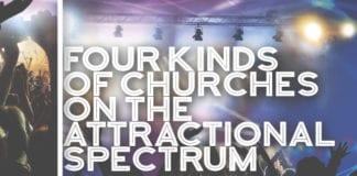 Four Kinds of Churches on the Attractional Spectrum (Where Does Yours Land?)