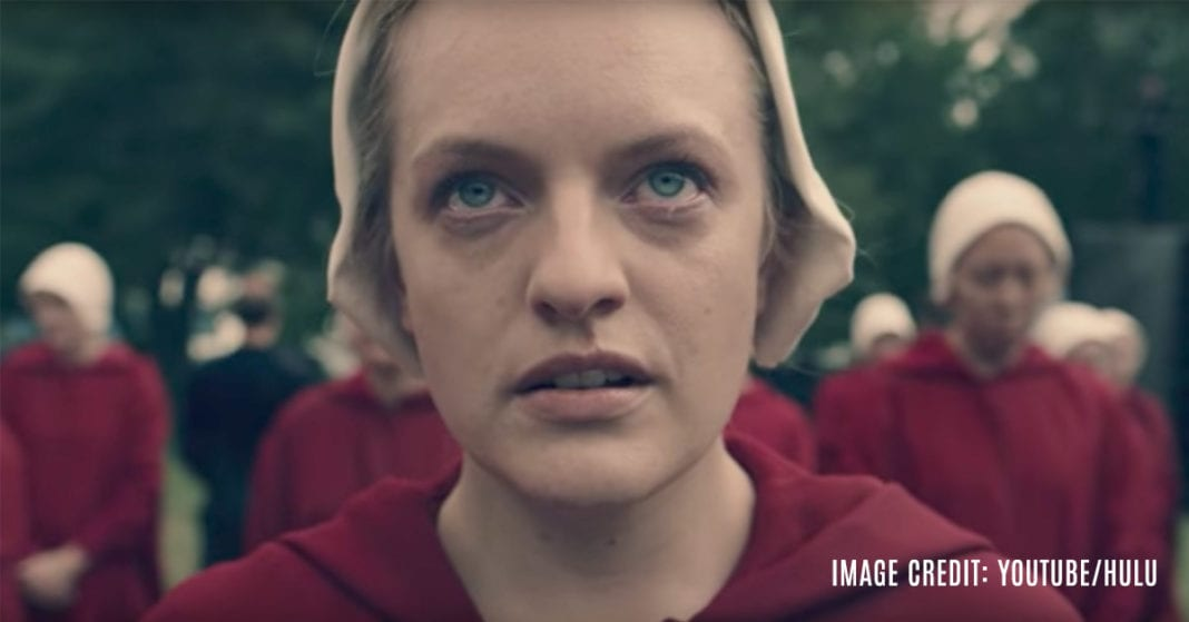 biblical appropriation in the handmaids tale After the first few episodes of the handmaid's tale, i felt discomfort i couldn't  shake the show takes place in a dystopian universe where the.