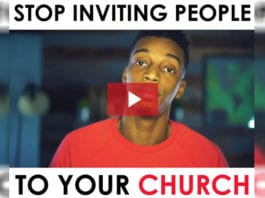 Rethinking Getting People to Church