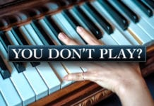 You're a Pastor's Wife and Don't Play the Piano???