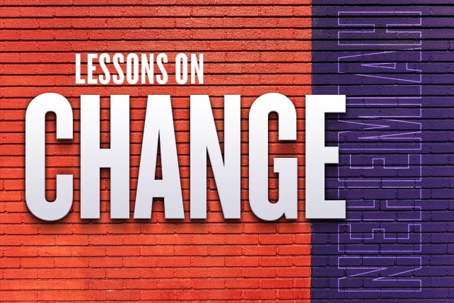 3 Lessons on Church Change from Nehemiah