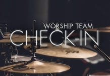 The 7-Minute Worship Team Check-In