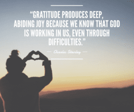Thanksgiving Quotes Charles Stanley