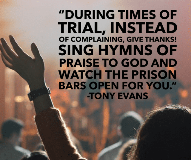 Thanksgiving Quotes Tony Evans