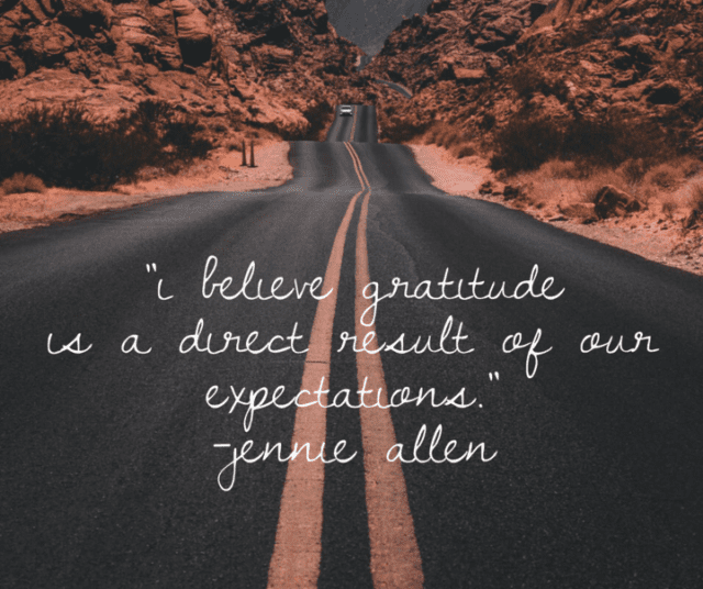 Thanksgiving Quotes Jennie Allen