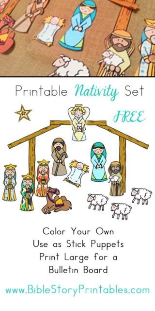picture about Printable Nativity referred to as printable nativity fixed - - - ChurchLeaders