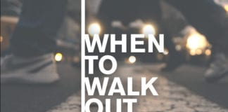 When to walk out on a sermon