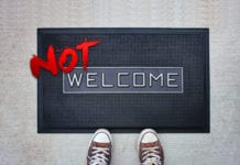 "7 Easy Ways to Put a ""Not Welcome"" Sign on Your Church"