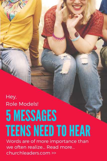 messages youth need to hear