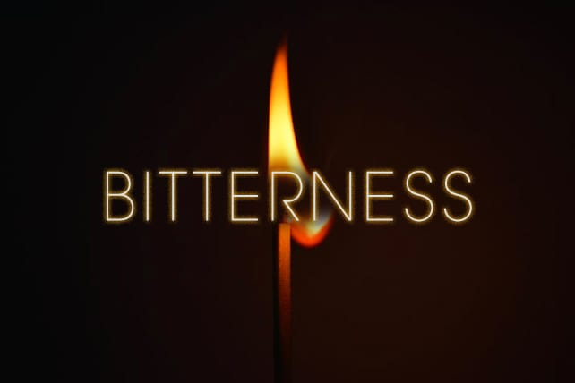 The Slow Burn of Bitterness
