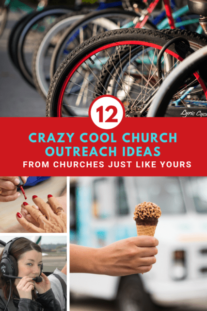 The recent issue of Outreach Magazine is a gold mine of out-of-the-box church outreach ideas. Whether you're part of a big church or a small church, these are great ideas to inspire you and energize your brainstorming and planning for the year.