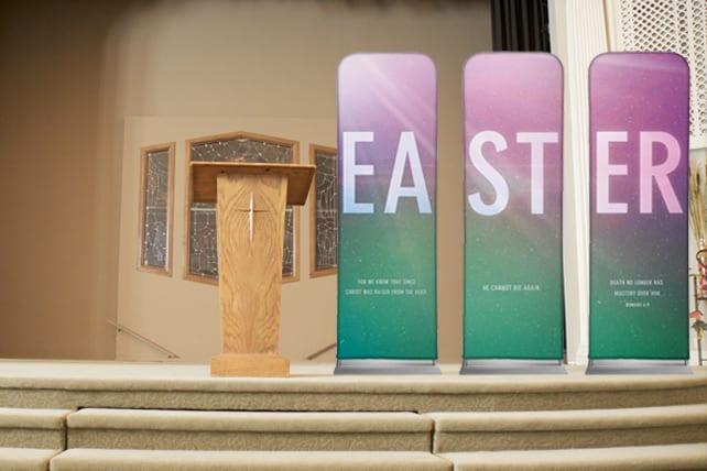12 EASY Church Stage Design Ideas for Easter