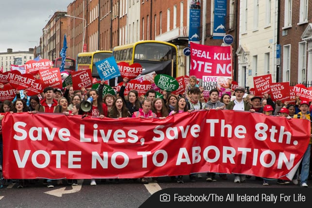 Pro-life 8th amendment