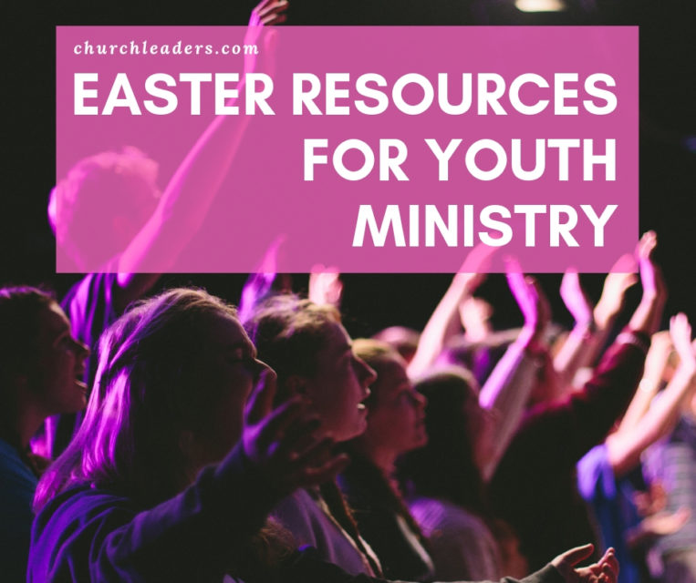 Easter resources for Youth Ministry