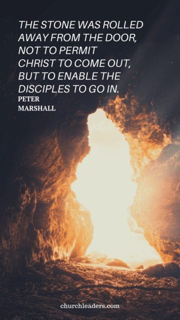 Easter quotes Peter Marshall