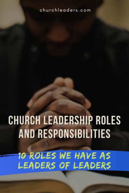 church roles and responsibilities