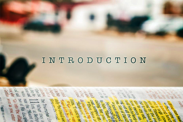 What a Good Sermon Introduction Looks Like and What it Does