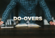 7 Do-Overs Pastors Wish They Had