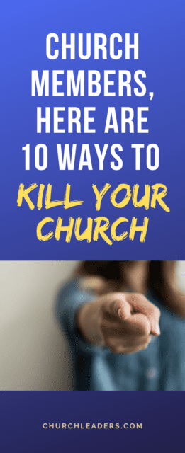 dying churches